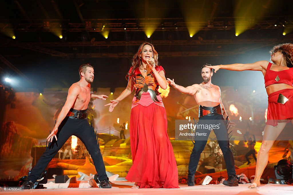 Andrea Berg Performs In Krefeld