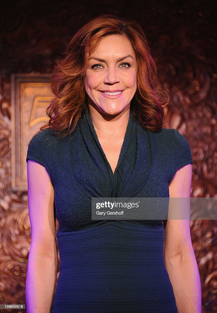 Singer Andrea McArdle attends a press preview at 54 Below on January 15, 2013 in New York City.