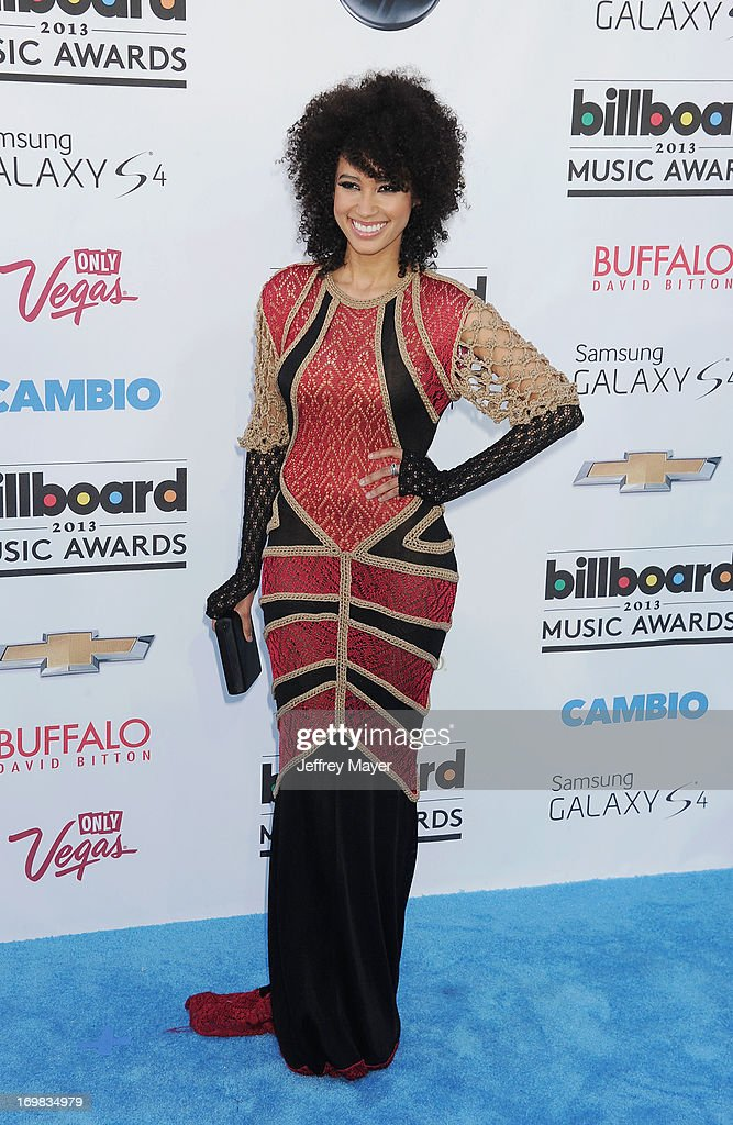 Singer Andy Allo arrives at the 2013 Billboard Music Awards at the MGM Grand Garden Arena on May 19, 2013 in Las Vegas, Nevada.