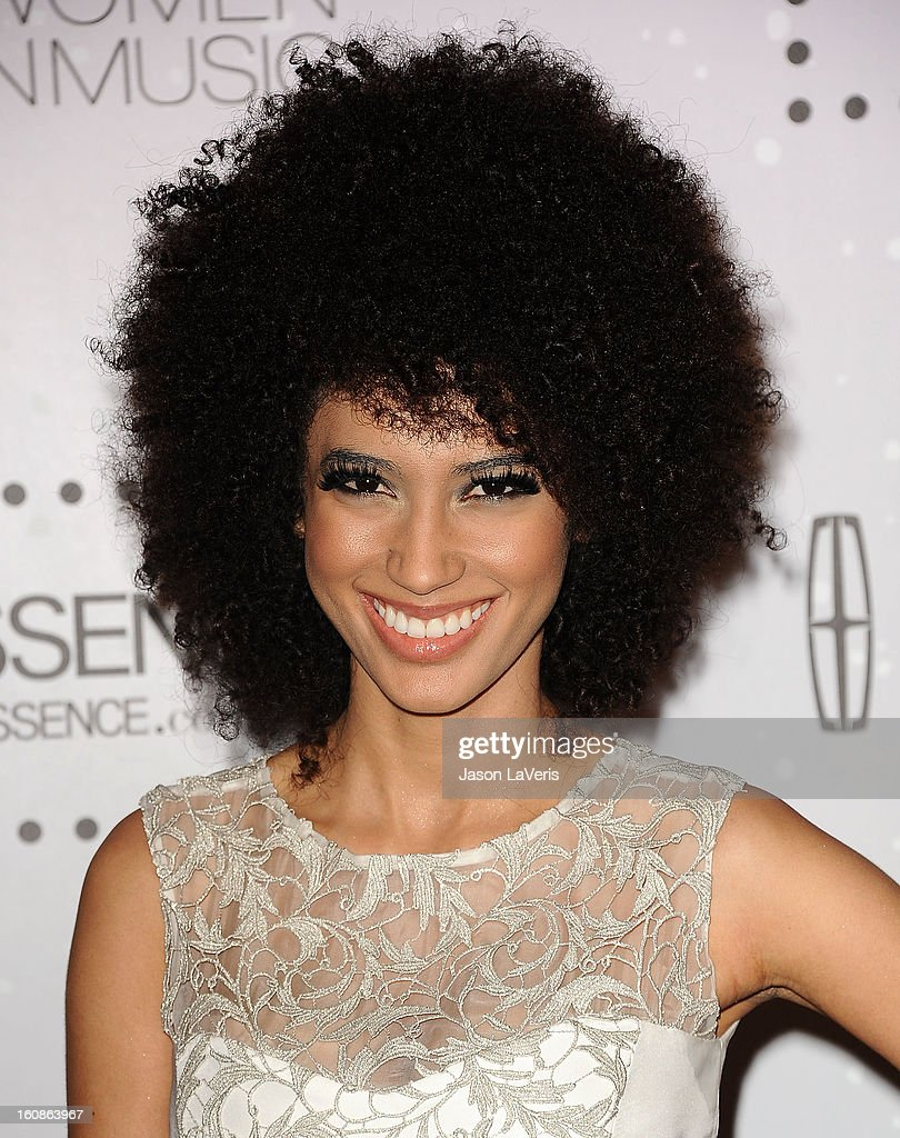Singer Andy Allo attends the 4th annual ESSENCE Black Women In Music event at Greystone Manor Supperclub on February 6, 2013 in West Hollywood, California.