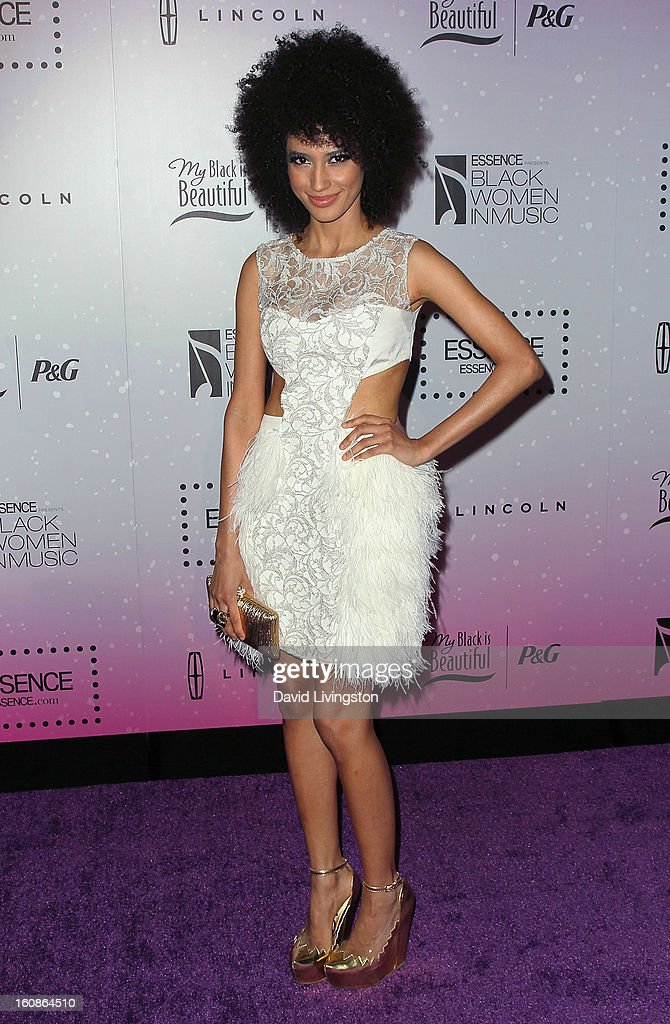 Singer Andy Allo attends the 4th Annual ESSENCE Black Women In Music honoring Lianne La Havas and Solange Knowles at Greystone Manor Supperclub on February 6, 2013 in West Hollywood, California.