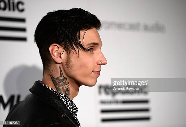 Andy Biersack Stock Photos And Pictures Getty Images