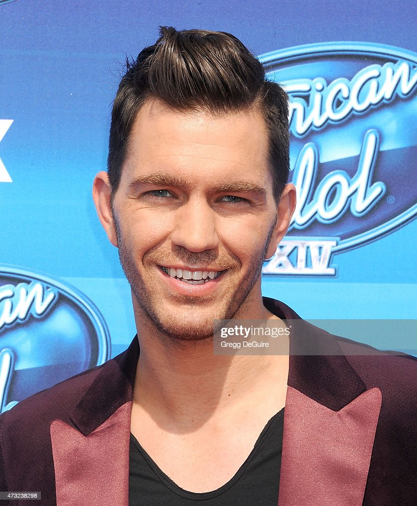 Singer <a gi-track='captionPersonalityLinkClicked' href=/galleries/search?phrase=Andy+Grammer&family=editorial&specificpeople=7469992 ng-click='$event.stopPropagation()'>Andy Grammer</a> arrives at the 'American Idol' XIV Grand Finale at the Dolby Theatre on May 13, 2015 in Hollywood, California.