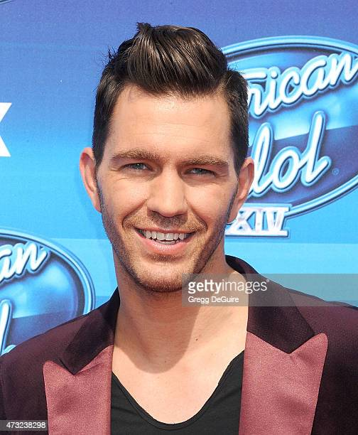 Singer Andy Grammer arrives at the 'American Idol' XIV Grand Finale at the Dolby Theatre on May 13 2015 in Hollywood California