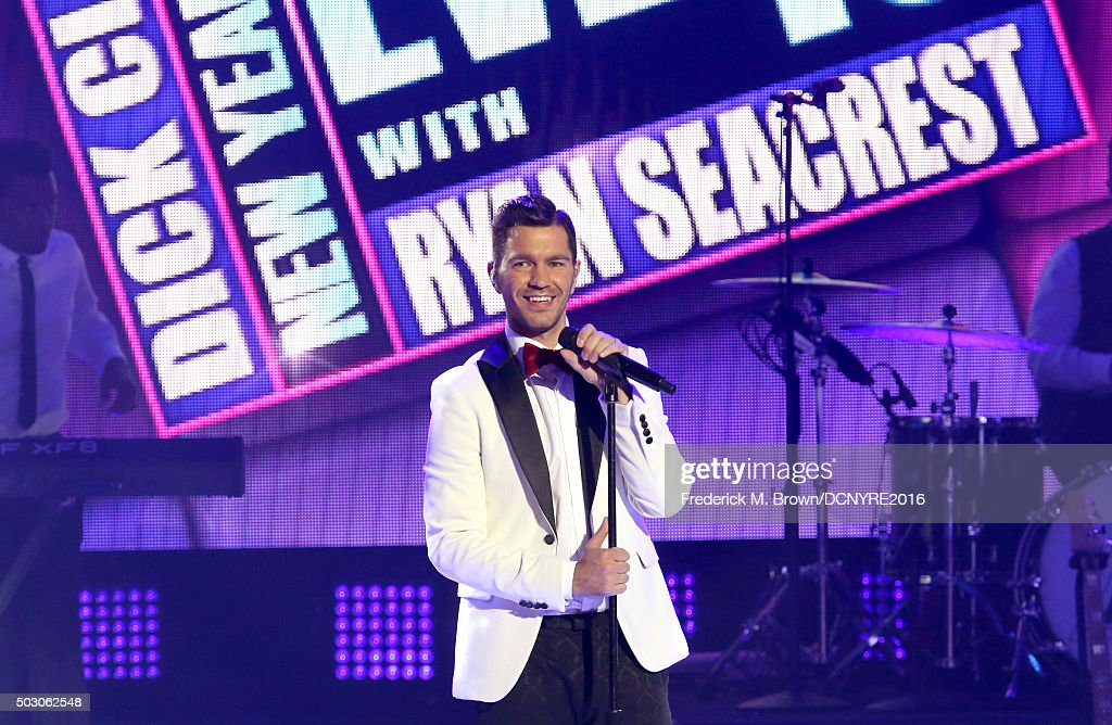 Singer <a gi-track='captionPersonalityLinkClicked' href=/galleries/search?phrase=Andy+Grammer&family=editorial&specificpeople=7469992 ng-click='$event.stopPropagation()'>Andy Grammer</a> performs onstage at Dick Clark's New Year's Rockin' Eve with Ryan Seacrest 2016 on December 31, 2015 in Los Angeles, CA.
