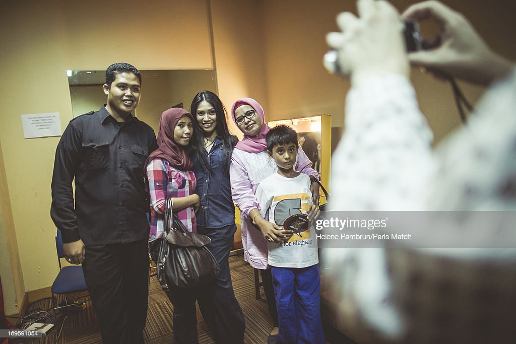 Singer <a gi-track='captionPersonalityLinkClicked' href=/galleries/search?phrase=Anggun&family=editorial&specificpeople=772820 ng-click='$event.stopPropagation()'>Anggun</a> is photographed for Paris Match on May 10, 2013 in Jakarta, Indonesia.