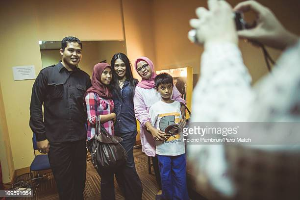 Singer Anggun is photographed for Paris Match on May 10 2013 in Jakarta Indonesia