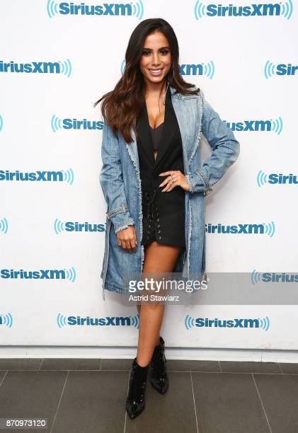 Singer Anitta visits the SiriusXM Studios on November 6 2017 in New York City