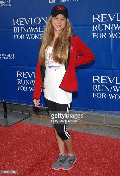 Singer Anna Margaret attends the 17th Annual EIF Revlon Run/Walk For Women at Los Angeles Memorial Coliseum on May 8 2010 in Los Angeles California