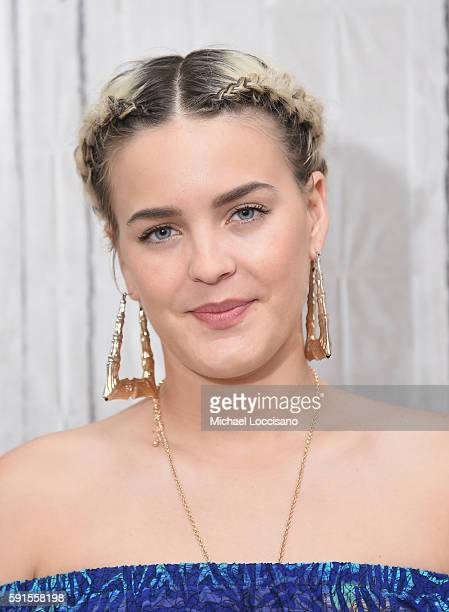 Singer AnneMarie attends the AOL Build presentation to discuss her new single 'Alarm' at AOL HQ on August 17 2016 in New York City