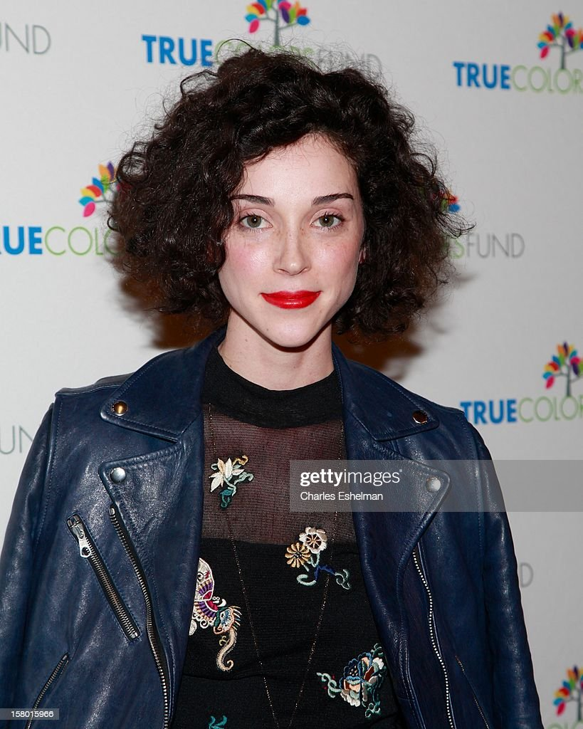 Singer Annie Clark aka St. Vincent arrives at The Beacon Theatre on December 8, 2012 in New York City.