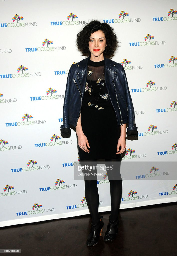 Singer Annie Clark also known as 'St.Vincent' attends the 2nd annual Cyndi Lauper and Friends: Home For The Holidays at The Beacon Theatre on December 8, 2012 in New York City.