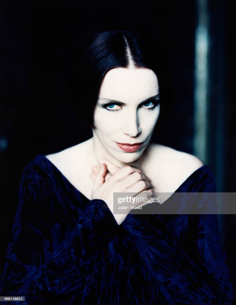 Singer Annie Lennox is photographed in 1993 in London, England.