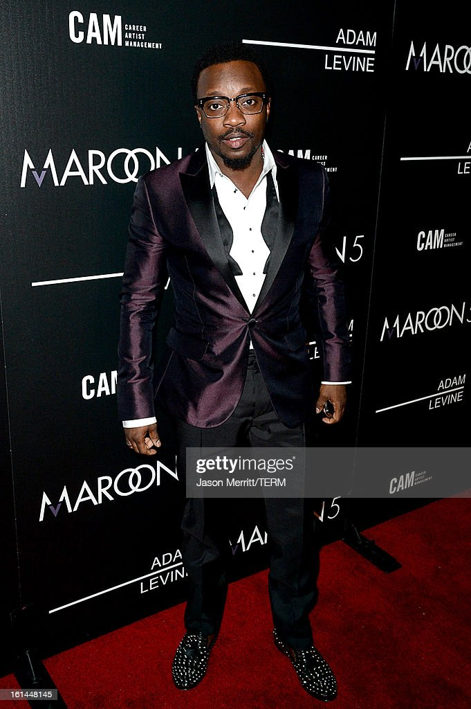 Singer Anthony Hamilton arrives at the Maroon 5 Grammy After Party & Adam Levine Fragrance Launch Event on February 10, 2013 in West Hollywood, California.