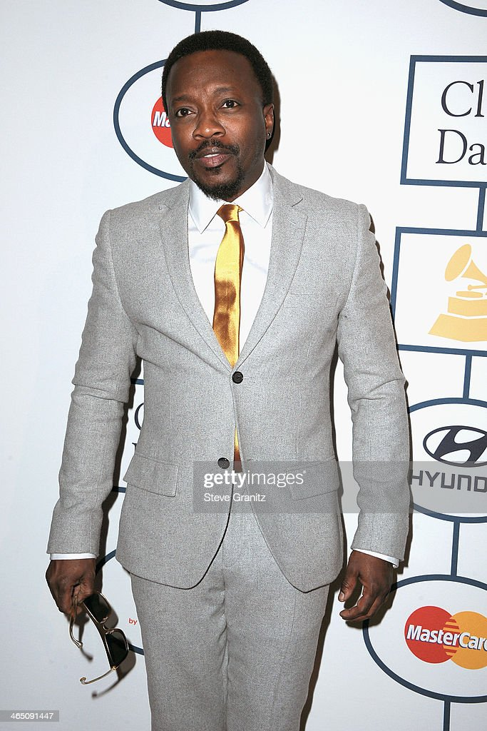 Singer Anthony Hamilton attends the 56th annual GRAMMY Awards Pre-GRAMMY Gala and Salute to Industry Icons honoring Lucian Grainge at The Beverly Hilton on January 25, 2014 in Los Angeles, California.