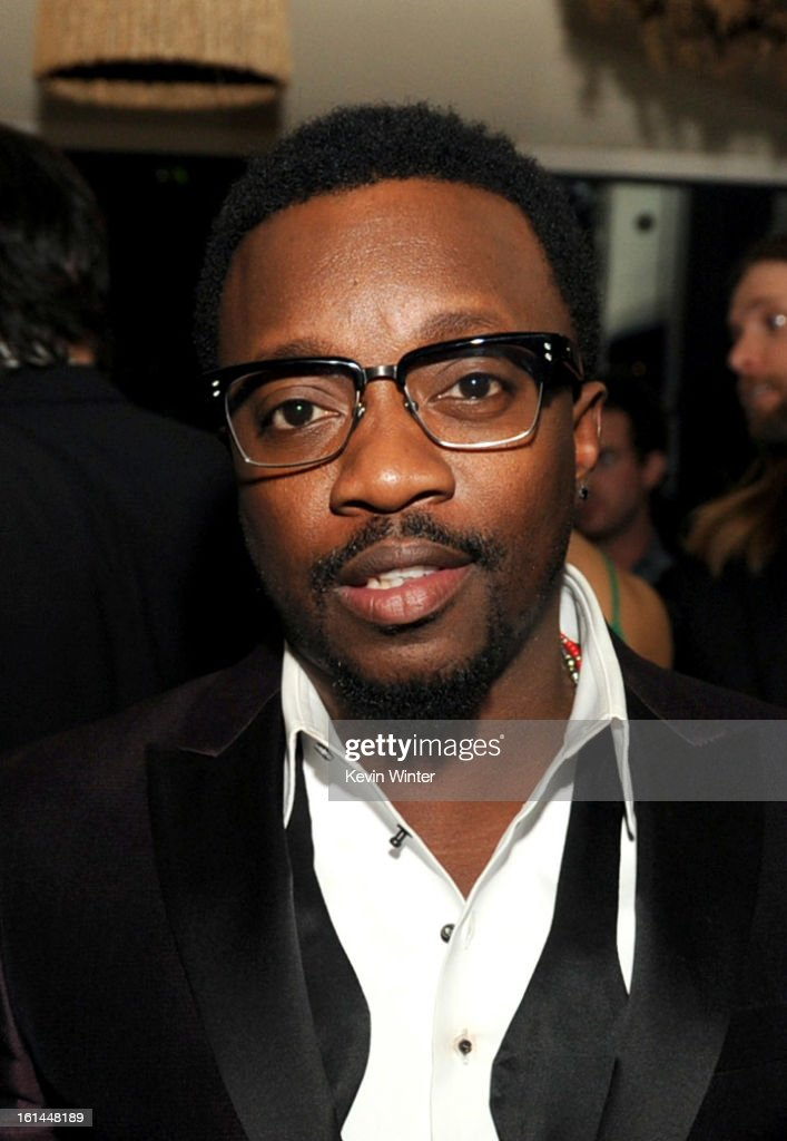 Singer Anthony Hamilton Attends the Maroon 5 Grammy After Party & Adam Levine Fragrance Launch Event on February 10, 2013 in West Hollywood, California.