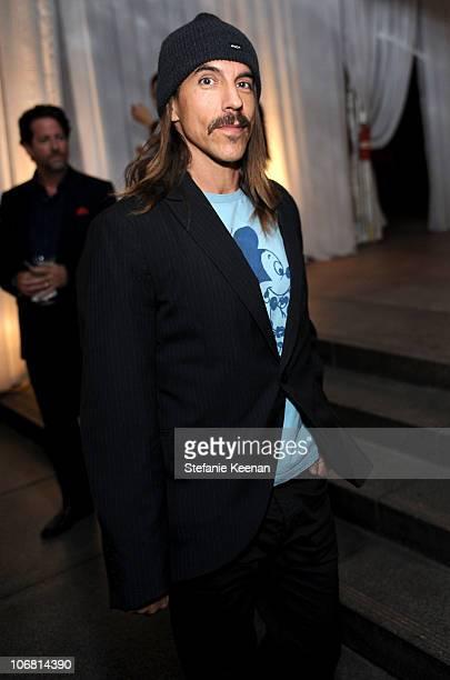 Singer Anthony Kiedis attends 'The Artist's Museum Happening' MOCA Los Angeles Gala cocktail reception held at MOCA Grand Avenue on November 13 2010...