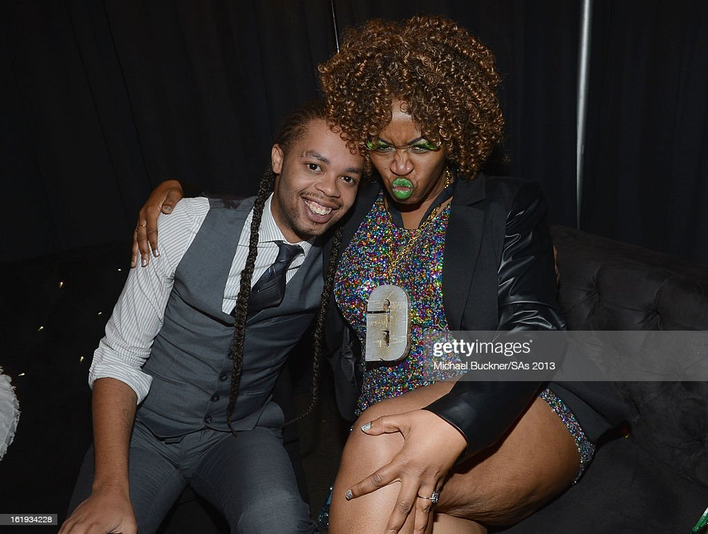 Singer Antoine Dodson and comedian GloZell attend the 3rd Annual Streamy Awards at Hollywood Palladium on February 17, 2013 in Hollywood, California.