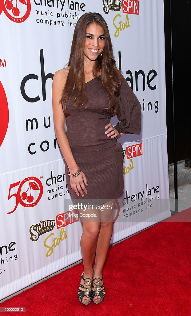 Singer Antonella Barba attends Cherry Lane Music Publishing's 50th Anniversary celebration at Brooklyn Bowl on May 19, 2010 in the Brooklyn borough of New York City.
