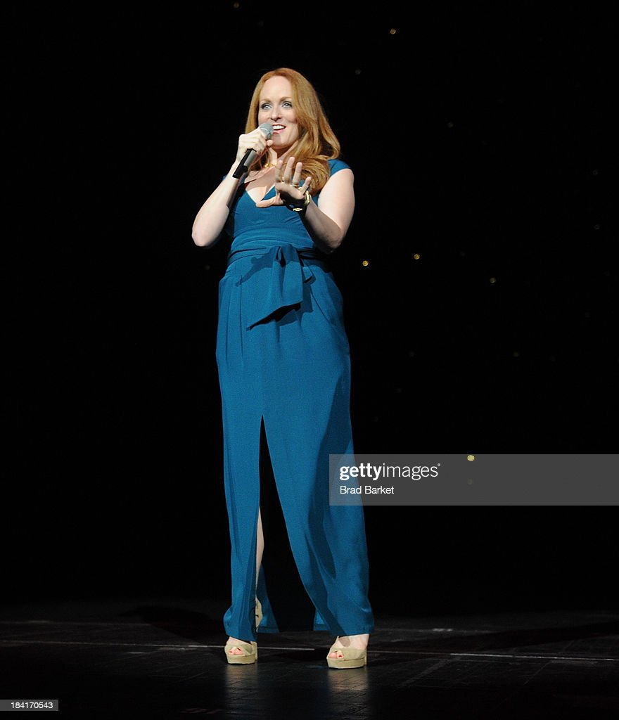 Singer Antonia Bennet performs at Radio City Music Hall on October 11, 2013 in New York City.