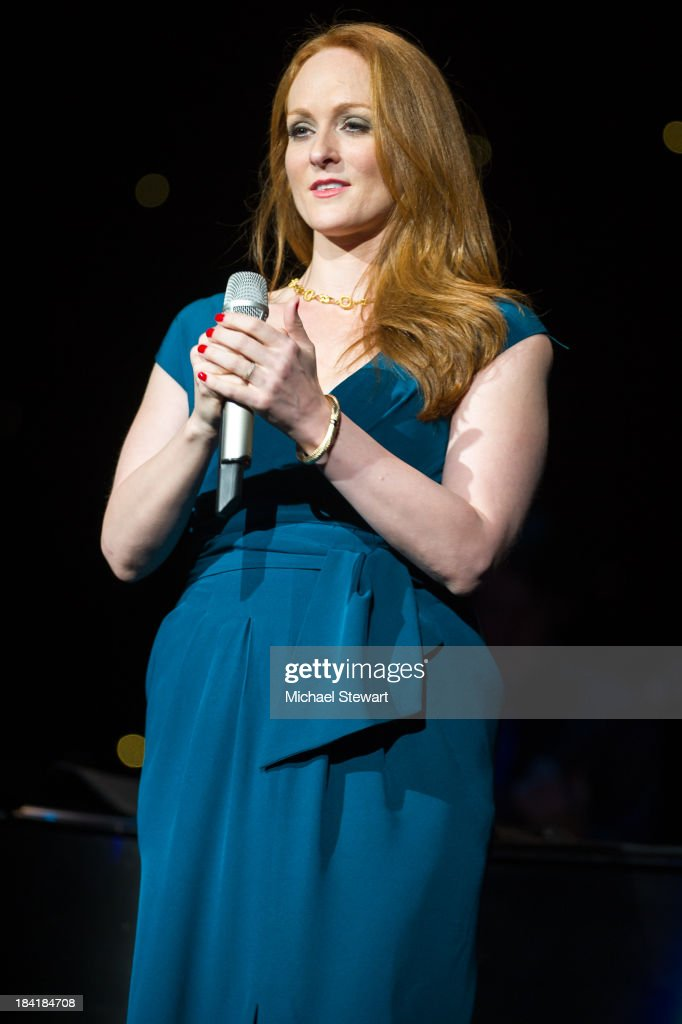 Singer Antonia Bennett performs at Radio City Music Hall on October 11, 2013 in New York City.
