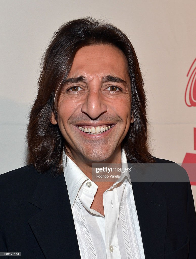 Singer Antonio Carmona arrives at the 2012 Latin Recording Academy Special Awards during the 13th annual Latin GRAMMY Awards at the Four Seasons Hotel on November 14, 2012 in Las Vegas, Nevada.