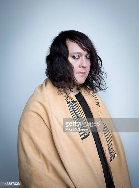 Singer Antony Hegarty of Antony and the Johnson's is photographed for The Observer Magazine on May 11 2012 in New York City