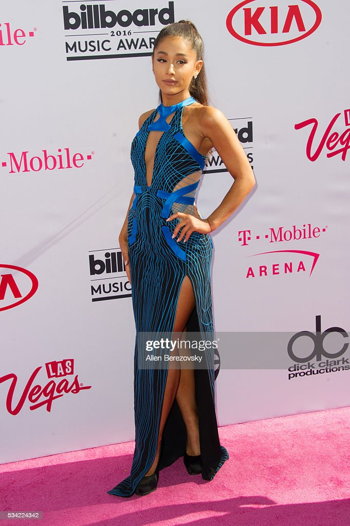 Singer Ariana Grande arrives at the 2016 Billboard Music Awards at T-Mobile Arena on May 22, 2016 in Las Vegas, Nevada.
