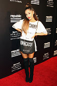 Singer Ariana Grande attends Republic Records 2015 VMA after party at Ysabel on August 30 2015 in West Hollywood California