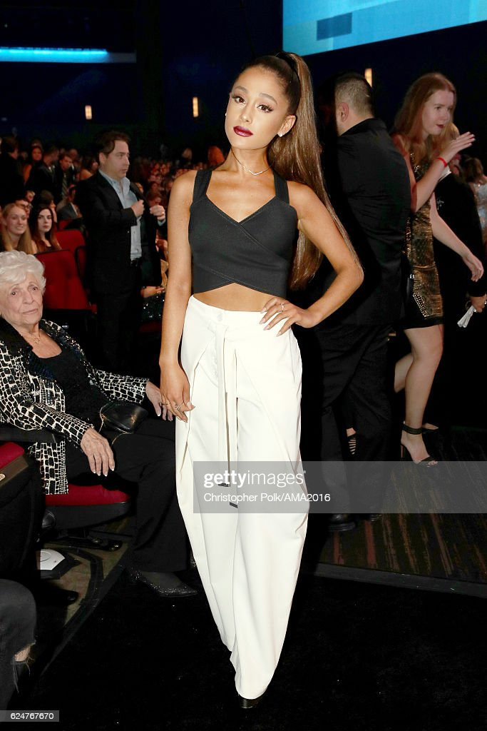 Singer Ariana Grande attends the 2016 American Music Awards at Microsoft Theater on November 20, 2016 in Los Angeles, California.
