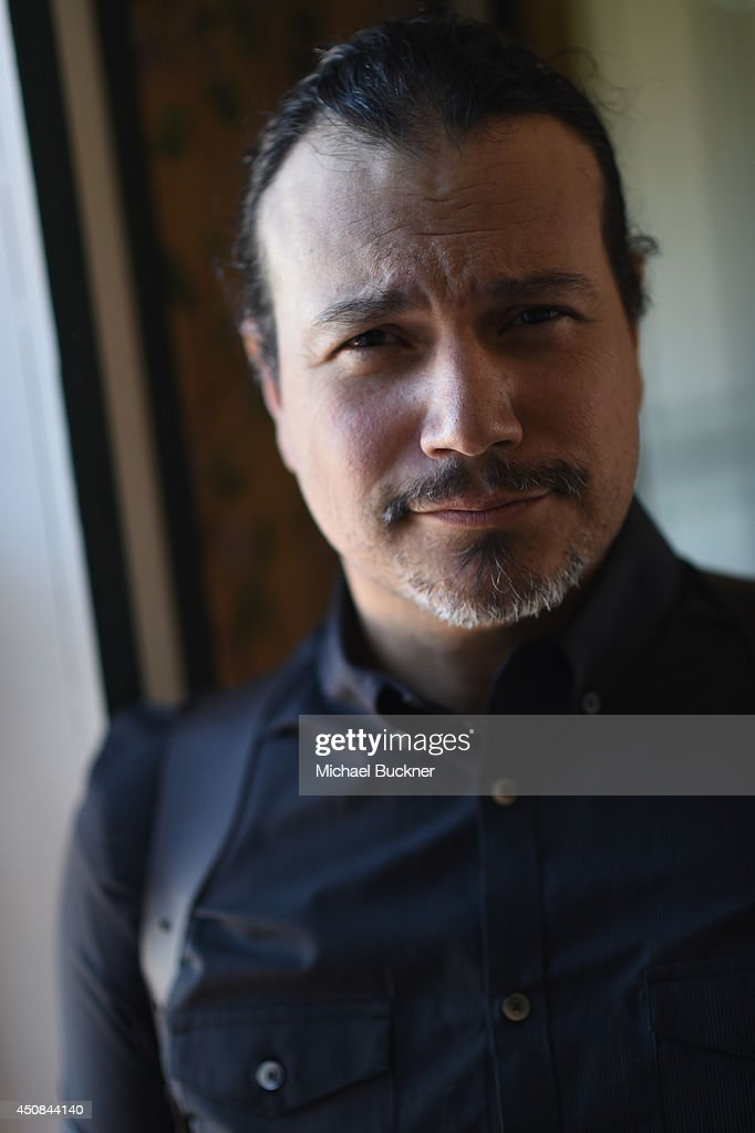 Singer Asdru Sierra poses for a portrat during the making of the music video for PurpleHaus Music's 'Marcando Paso' from Album ABSTRAKTO at a private...