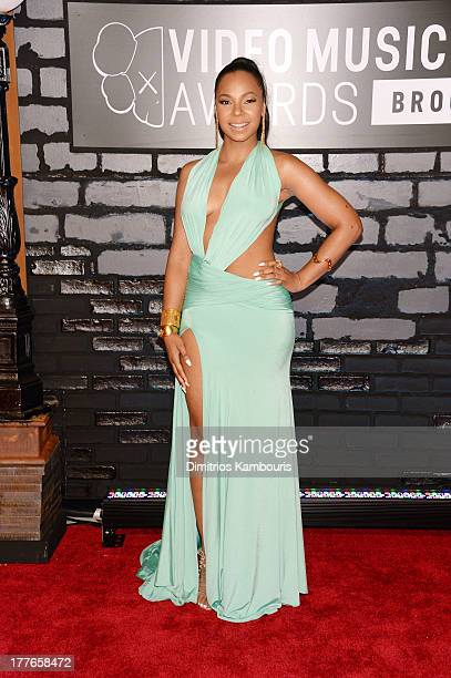 Singer Ashanti attends the 2013 MTV Video Music Awards at the Barclays Center on August 25 2013 in the Brooklyn borough of New York City