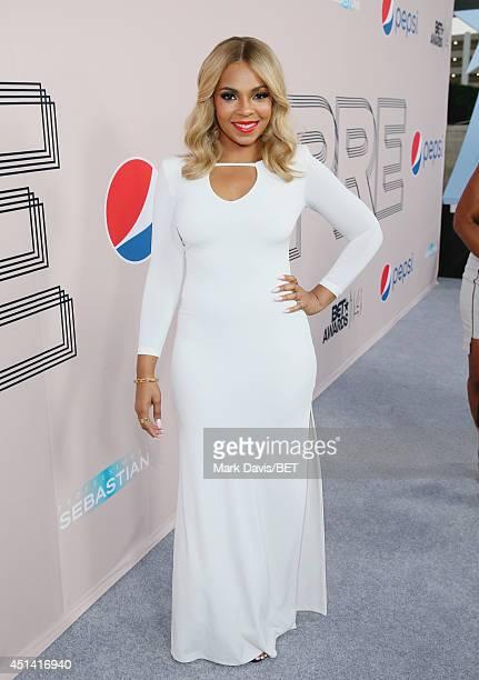 Singer Ashanti attends the BET AWARDS '14 Debra Lee's PreDinner held at Milk Studios on June 28 2014 in Los Angeles California