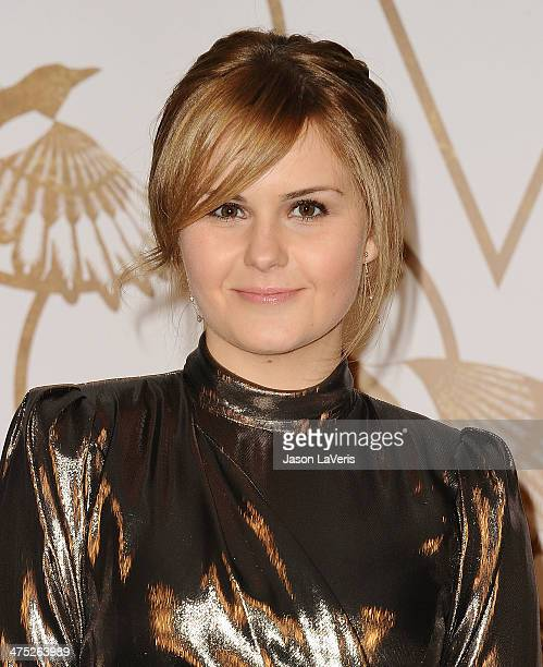 Singer Ashlee Keating attends the LoveGold event at Chateau Marmont on February 26 2014 in Los Angeles California