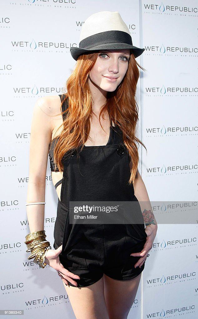 Ashlee Simpson-Wentz Celebrates Her Birthday At Wet Republic