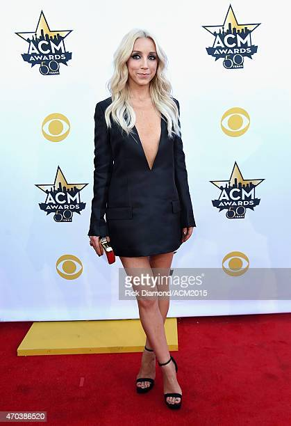 Singer Ashley Monroe attends the 50th Academy of Country Music Awards at ATT Stadium on April 19 2015 in Arlington Texas