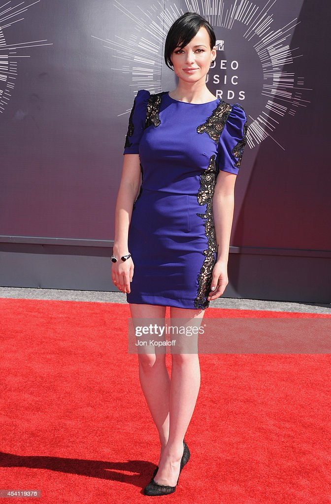Singer Ashley Rickards arrives at the 2014 MTV Video Music Awards at The Forum on August 24 2014 in Inglewood California