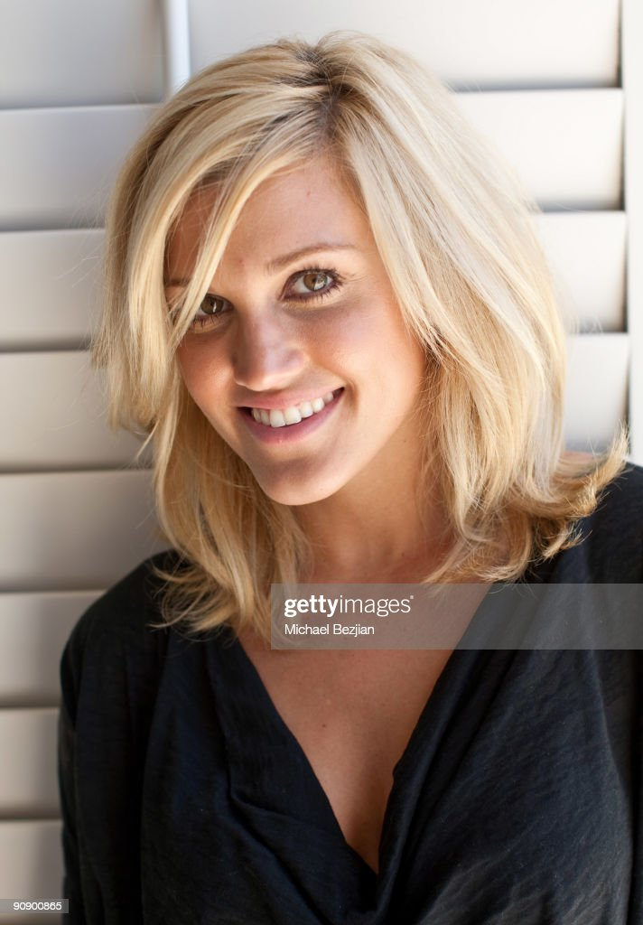 Singer Ashley Roberts plays Just Dance by Ubisoft at the Silver Spoon Emmy Suite at Maloof Estate on September 17 2009 in Beverly Hills California
