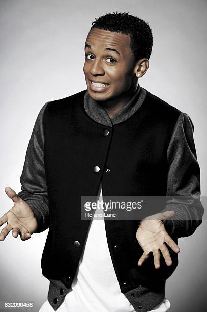 Singer Aston Merrygold with pop band JLS is photographed on September 16 2011 in London England