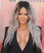 Singer Aubrey O'Day arrives at the 2015 iHeartRadio Music Awards at The Shrine Auditorium on March 29 2015 in Los Angeles California