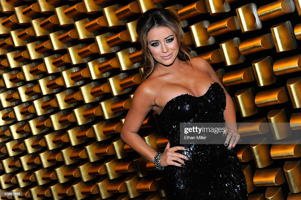 Singer <a gi-track='captionPersonalityLinkClicked' href=/galleries/search?phrase=Aubrey+O%27Day&family=editorial&specificpeople=570062 ng-click='$event.stopPropagation()'>Aubrey O'Day</a> attends the opening night gala for Mandarin Oriental, Las Vegas at CityCenter December 4, 2009 in Las Vegas, Nevada. The 47-story nongaming luxury hotel and condominium tower is the third part of the 67-acre, USD 8.5 billion mixed-use urban development center to open. The joint project between MGM Mirage and Dubai World is said to be the biggest privately financed construction project in United States history and one of the world's largest green projects being built with the Leadership in Energy & Environmental Design (LEED) Gold certified Green Building Rating System.