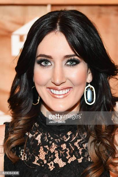 Singer Aubrie Sellers attends the HGTV Lodge at CMA Music Fest on June 9 2016 in Nashville Tennessee