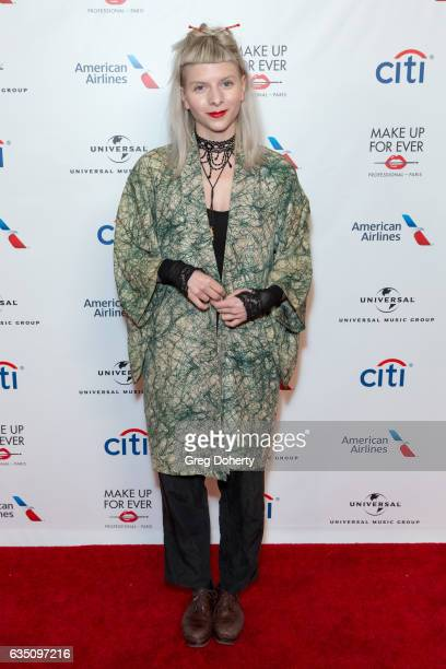 Singer Aurora attends the Universal Music Group's 2017 GRAMMY After Party at The Theatre at Ace Hotel on February 12 2017 in Los Angeles California