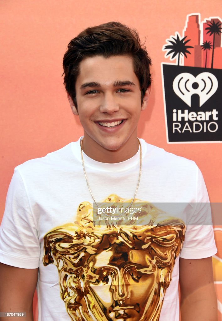 Singer Austin Mahone attends the 2014 iHeartRadio Music Awards held at The Shrine Auditorium on May 1 2014 in Los Angeles California iHeartRadio...