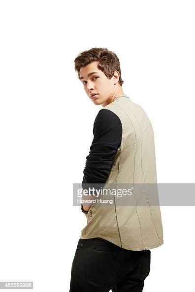 Singer Austin Mahone is photographed for Self Assignment on September 17 in New York City