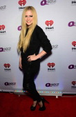 Singer Avril Lavigne attends Q102's Jingle Ball 2013 presented by Bernie Robbins Jewelers at Wells Fargo Center on December 4 2013 in Philadelphia PA
