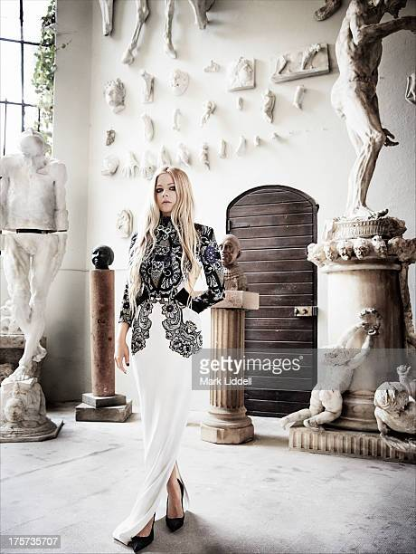 Singer Avril Lavigne is photographed for Glamour Italy on June 30 2013 in Cannes France PUBLISHED IMAGE ON DOMESTIC EMBARGO UNTIL SEPTEMBER 1 2013 ON...