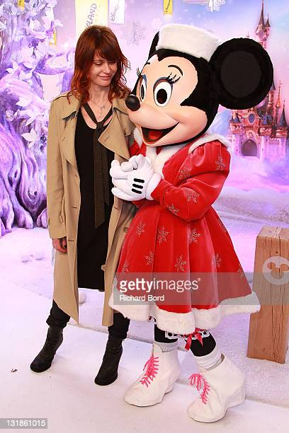 Singer Axelle Red attends the Raiponce Premiere during the Christmas Season Launch at Disneyland Paris on November 6 2010 in Paris France