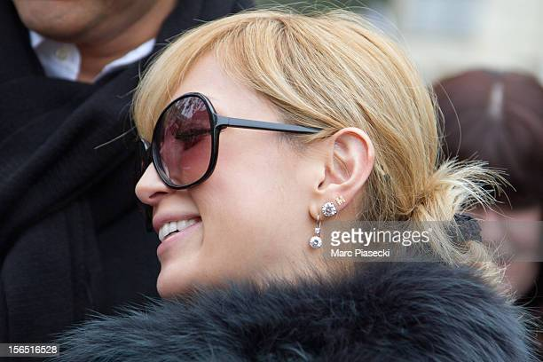Singer Ayumi Hamasaki is seen leaving her hotel on November 16 2012 in Paris France