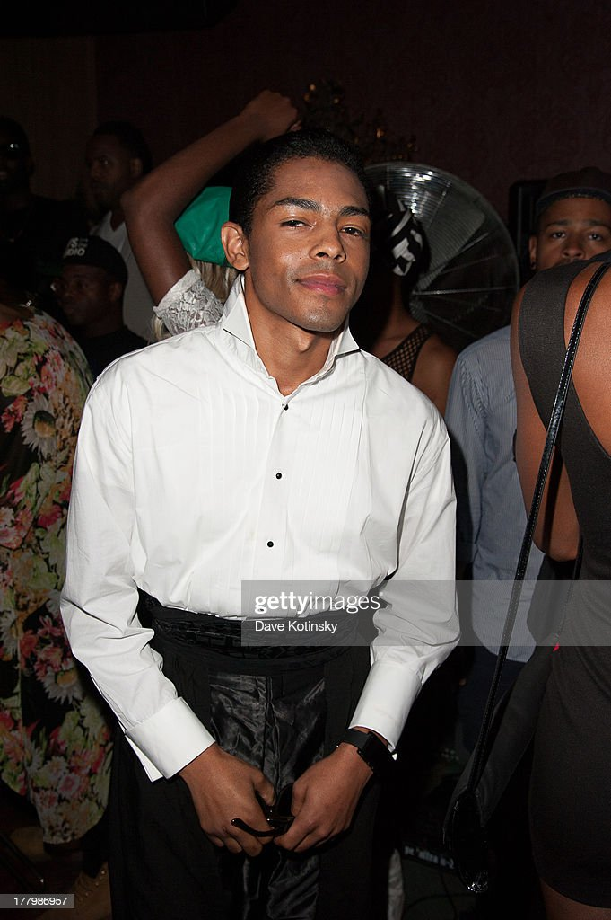 Singer B Howard attends the MTV VMAs After Party at Mister H on August 25, 2013 in New York City.